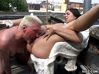 Lustful vicious brunette in one hell of fucking session