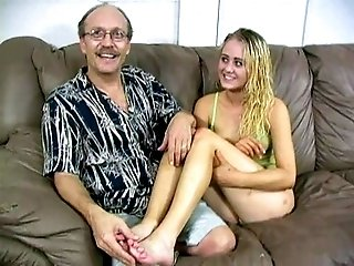 Gorgeous blonde has sexy feet that can make wonders