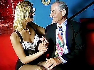 This old playboy still knows how to seduce a beautiful young woman and fuck her sweet pussy to a powerful orgasm